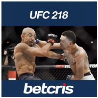 BETCRIS UFC 218 Max Holloway vs Jose Aldo betting odds