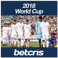 BETCRIS Soccer 2018 World Cup betting odds Iran