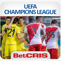 UEFA Champions League AS Monaco vs Villarreal