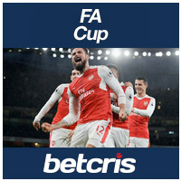 BETCRIS FA Cup Arsenal soccer betting odds