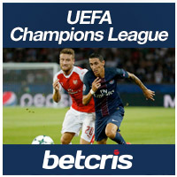 BetCRIS Apuestas futbol UEFA CHAMPIONS LEAGUE Arsenal vs PSG