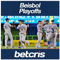 BETCRIS BEISBOL PLAYOFFS FOTO LOS ANGELES DODGERS