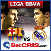 Barcelona vs Real Madrid - Futbol Liga BBVA