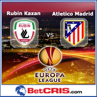 Europa League - Atletico Madrid vs FK Rubin Kazan