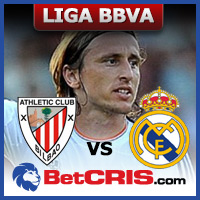 Liga BBVA, Espana Athletic Bilbao vs Real Madrid Luka Modric