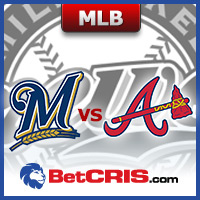 Braves contra Brewers - MLB