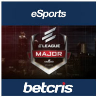 BETCRIS CS GO ELEAGUE Major betting odds