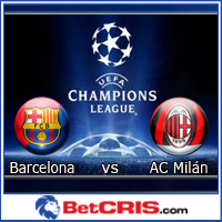 Barcelona vs Milán - Octavos de Final Champions League