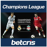 BETCRIS Champions League Liverpool vs Real Madrid final