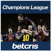 betcris Champions League Matches soccer betting