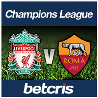 BETCRIS Champions League Liverpool vs Roma