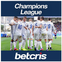 BETCRIS Soccer Champions League  betting odds Real Madrid
