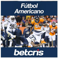 BetCRIS Apuestas Futbol Americano Thursday Night Football Foto Chargers vs Broncos