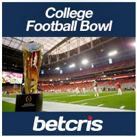 BETCRIS college football bowl season betting odds