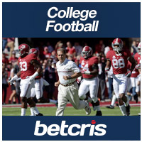 BETCRIS College Football  Alabama Crimson Tide betting odds
