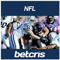 BETCRIS NFL ODDS Colts vs Ravens