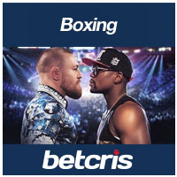 BETCRIS Boxing betting odds Conor McGregor vs Floyd Mayweather Jr