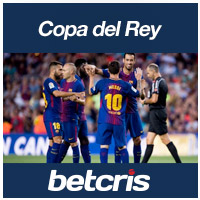 Soccer betcris Copa del Rey Barcelona betting odds