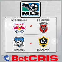 DC United vs NY Red Bulls - LA Galaxy vs San Jose