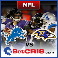 Detroit vs Baltimore - Monday Night Football