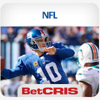 BetCRIS Apuestas NFL Monday Night Football Dolphins vs Giants