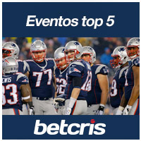 BETCRIS EVENTOS TOP 5 FOTO NEW ENGLAND PATRIOTS