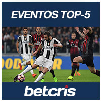 BETCRIS EVENTOS TOP 5 JUVENTUS AC MILAN