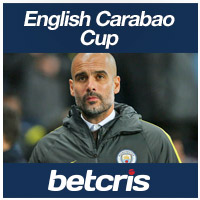English Carabao Cup Manchester City vs Bristol City