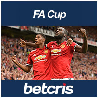 BETCRIS FA Cup Manchester United vs Brighton Hove Rashford