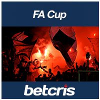 betcris FA CUP betting odds
