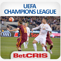 BetCRIS UEFA CHAMPIONS LEAGUE Francesco Totti vs Cristiano Ronaldo