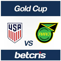 BETCRIS soccer betting Odds Gold Cup Jamaica vs USA