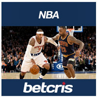 betcris Apuesats de Baloncesto NBA LeBron James 2016 Cavaliers vs Carmelo Anthony