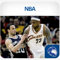 NBA LeBron James Cavaliers vs Manu Ginobili