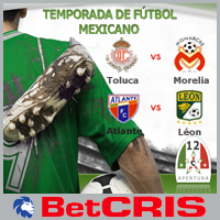 Toluca vs Morelia - Atlante vs Leon