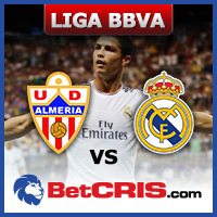 Real Madrid vs Almeria - Futbol Liga BBVA