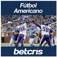BETCRIS Apuestas NFL Lions vs Vikings Thanksgiving Day