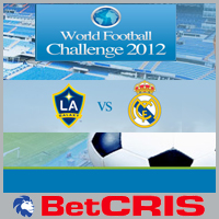BetCRIS Real Madrid vs Galaxy - World Football Challenge