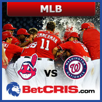 MLB - Cleveland vs Washington - Temporada Regular MLB