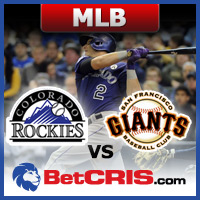 Giants vs Rockies - Apuestas de BEisbol