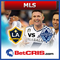 Galaxy vs Whitecaps - futbol USA MLS
