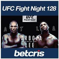 BETCRIS MMA UFC Fight Night 128 odds