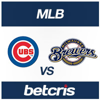 BETCRIS MLB BETTING ODDS Cubs vs. Brewers