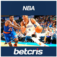 betcris aPUESTAS de Baloncesto NBA Knicks vs Thunder Russell Westbrook 2016