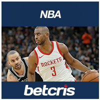 betcris NBA Rockets vs Spurs Chris Paul 2018