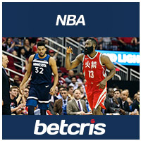 BETCRIS NBA Rockets vs Timberwolves James Harden Karl Anthony Towns