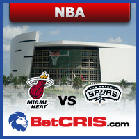 Noticias & Jugadas deportivas de baloncesto de la NBA, Heat vs Spurs en American Airlines Center en BetCRIS