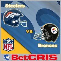 Steelers vs Broncos  - NFL Football Americano
