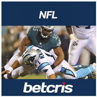 BETCRIS NFL Eagles VS Panthers betting odds
