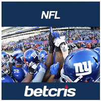 BETCRIS NFL bettin Odds New York Giants